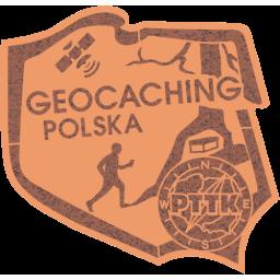 Odznaka PTTK Geocaching Polska br�zowa